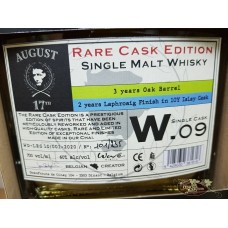 August 17th Rare Cask Edition Laphroaig 10